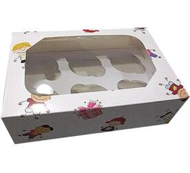 caixas cupcakes